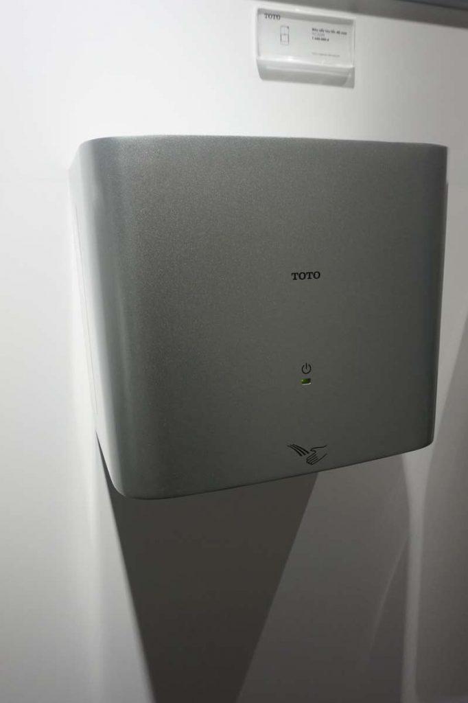 thiết bị máy sấy tay TOTO giá rẻ tại tphcm
