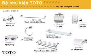 Thiết bị phụ kiên phòng tắm cho nhà vệ sinh TOTO