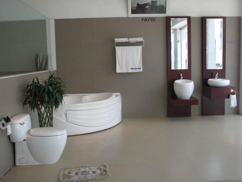 Phòng tắm thiết bị vệ sinh Toto HCM