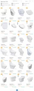 Bảng báo giá thiết bị vệ sinh Toto chính hãng 100% gia tot