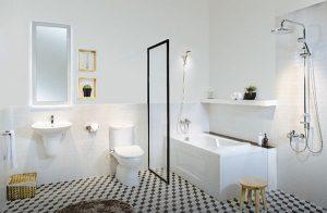 Phong tắm thiết bị vệ sinh Toto
