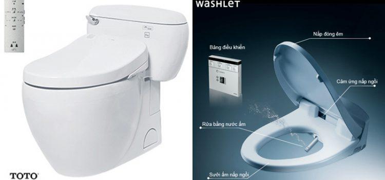 Đại lý bán bồn cầu điện tử Toto Washlet – bàn cầu nắp rửa TPHCM Hà Nội giá rẻ
